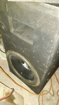 black and gray subwoofer speaker Las Vegas, 89104