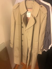 brown button-up coat 34 km