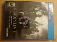 Sony PS4 Resident Evil game case Omaha, 68138