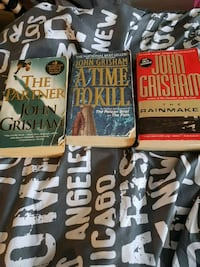 John grisham paperback book lot Kingston
