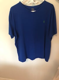 POLO RALPH LAUREN SIZE XL T-SHIRT BLUE (FIRM) Toronto, M1S 2B2