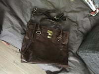 black leather 2-way bag Calgary, T2A