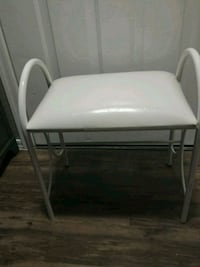 White dressing chair Chandler, 85248