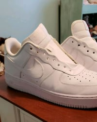 pair of white Nike Air Force 1 low shoes Bakersfield, 93314