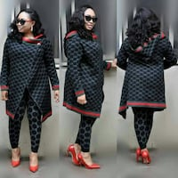 $54 Two black and red knitted long sleeve shirts Portland, 97209
