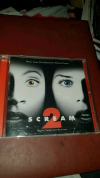 Soundtrack Scream 2 cd Oslo kommune, 0986