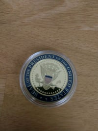 President Of The United States Challenge Coin Charleston, 29414
