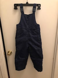 Kids cold weather proof overalls. Size kids boys 3T  Vacaville, 95687
