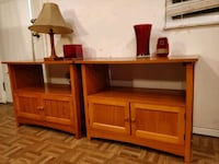 """like new 2 night stand/small TV stand in great condition. L30""""*W18""""*H2 Annandale, 22003"""