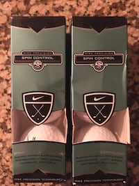 Sleeve Of 3 Nike Precision Spin Control Golf Balls