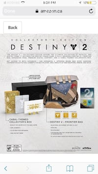 New Destiny 2 – PS4 Collector's Edition London, N5V 1H7