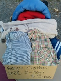 Boys clothes mystery box. Size 0-18 m Clarence-Rockland, K0A 1E0