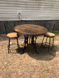 Dining Table Set W/2 chairs West Monroe, 71292