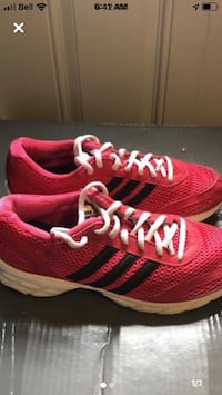 Adidas running shoes size 8 women's