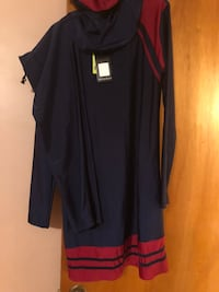 women's black and red dress Montréal, H1R 1W6