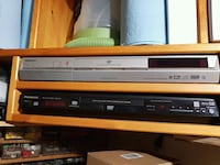 Toshiba DVD recorder and Panasonic DVD player