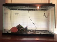 black framed clear glass fish tank Phenix City, 36869