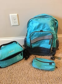 Backpack, pencil case and lunch box. Clarksville, 37043