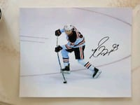 Ryan Nugent-Hopkins Autographed 8x10 Photo  Edmonton, T6L 2K3