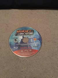 Sony PS3 Uncharted 4 game disc