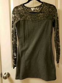 Grey Long Sleeve Dress Size S Vancouver, V6B 6N8