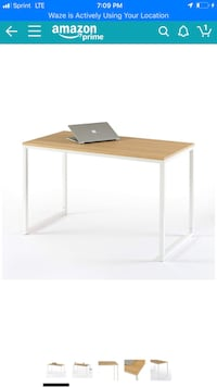 brown and white wooden table Springfield, 22150
