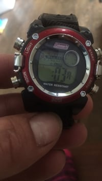 round red Coleman digital watch Pelham, L3B 5N5