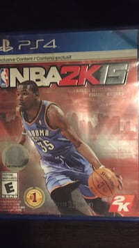 NBA 2K15 PS4 game case Rocky View No. 44, T0J 1X2