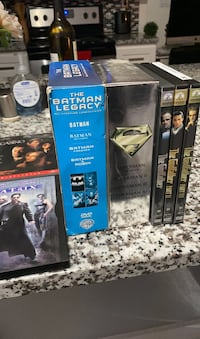 Superman, Batman,Godfather DVD collection