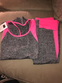 Brand New spandex top and leggings  Gaithersburg, 20877