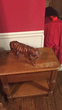 Leather tiger for sale $25 Pensacola, 32506