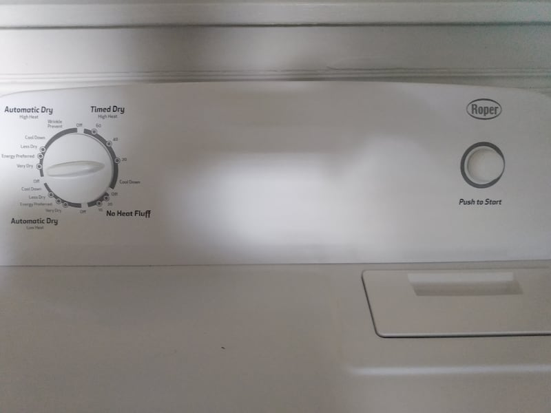 For Both Washer and Dryer Clean Perfect nothing wrong work perfectly acaeb49e-5d9c-4f7e-a7d8-5bcca0b876f5