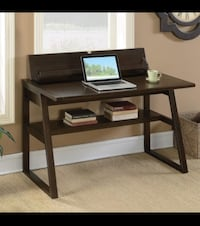 Chestnut writing desk w/ power outlet Bellair, 32073