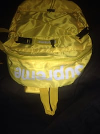 Yellow supreme book bag new Gaithersburg, 20878