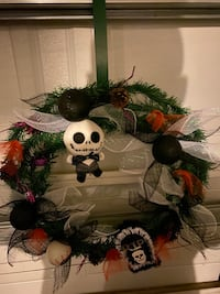 Halloween wreath nightmare before Christmas Las Vegas, 89156