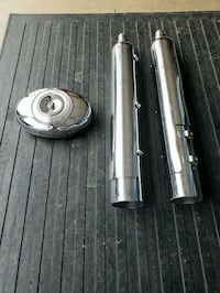 Harley Davidson air cleaner in mufflers