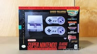 SNES CLASSIC (Brand New, Receipt Included)