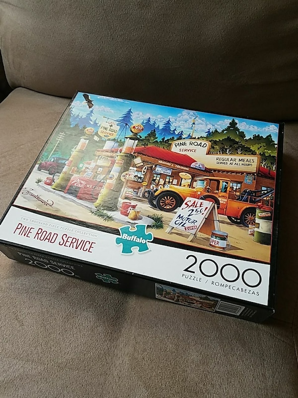 Buffalo Games 2000 Piece Puzzle