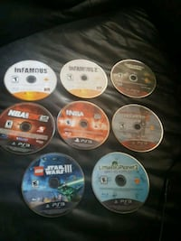 Ps3 games on working conditions  Oxon Hill