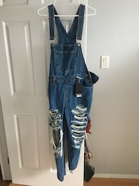 Brand new overalls with tags