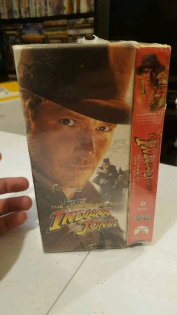 Vintage Indiana Jones VHS Collections  d082935c-2bde-4910-8fca-533901b3007b