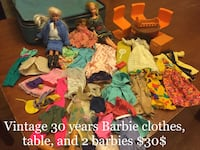 Retro Barbie clothes (70's, 80's) Smiths Falls, K7A 3Y2