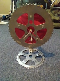 Sprocket clock bike lovers time teller St. Augustine, 32080