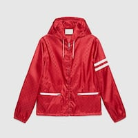 Gucci hoodie windbreaker medium to large fit new Delta, V4E 1Y5