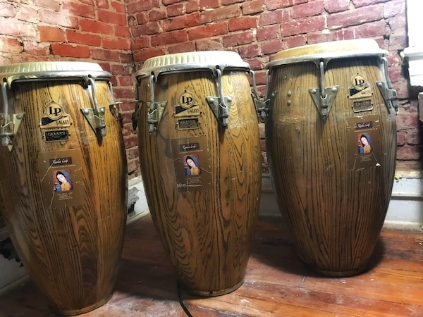 Congas LP Galaxy, Giovanni collection.