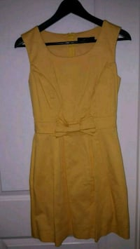 women's yellow sleeveless dress Toronto
