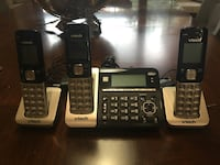 two black and gray Vtech wireless home phones Frisco, TX, USA