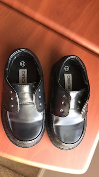 Size 5 1/2 baby boy shoes in black Herndon, 20170