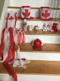 Canada Day decorations  Chisholm, P0H