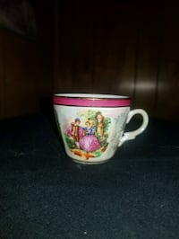 Yusui Porcelain Coffee Cup Jefferson
